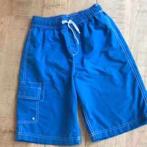 BOYS LANDS END SWIM TRUNKS. LIKE NEW CONDITION!